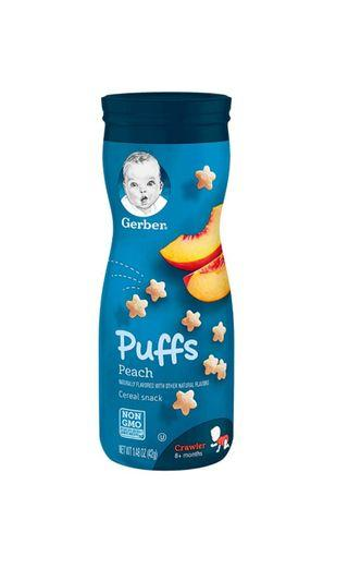Gerber Puffs (Peach) Cereal Snack