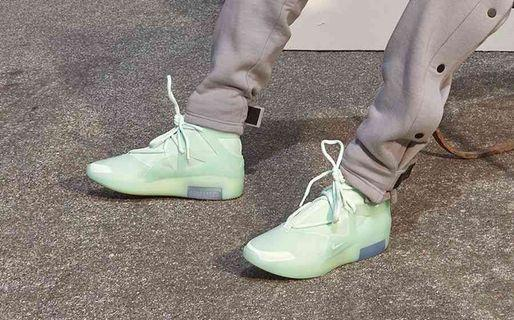 Nike Air Fear of God 1 Frosted Spruce Green Mint US 10