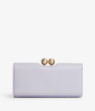 TED BAKER Joisey leather matinee purse