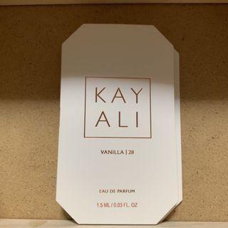 Kayali Huda Beauty Perfume Vanilla