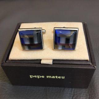 Pepe Mateu silver Cufflinks 袖扣