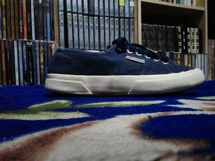 Superga lowcut rubbershoes
