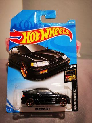 Hotwheels 88 honda cr-x