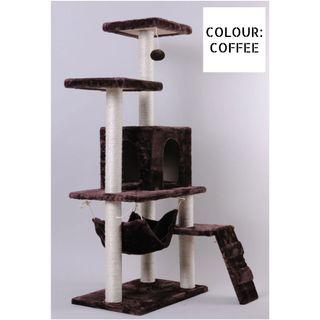 🚚 INSTOCKS! Cat Kitten Scratching Tree House / Bed NEW