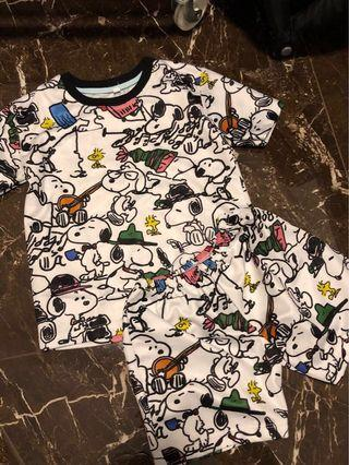 🚚 Snoopy Mother Daughter Dri Fit Set