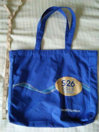 🚚 NEW S26 blue fabric Tote Bag