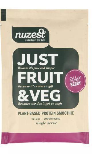 Nuzest Just Fruit & Veg Sachets