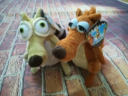 Ice Age Scrat&Scratte Toys