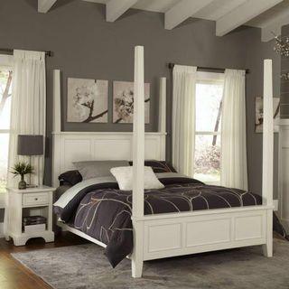Pottery Barn 4 post bed + Simmon mattress