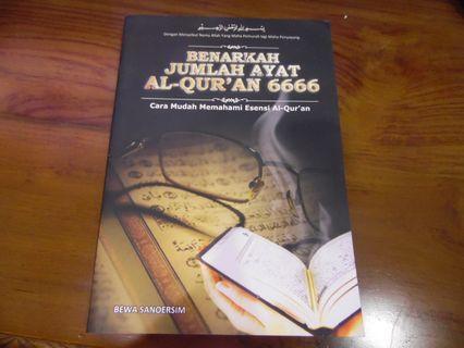 Benarkah ayat Al Quran jumlahnya 6666?