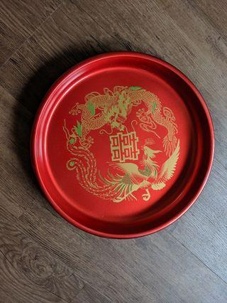 Red wedding tray Guo Da Li