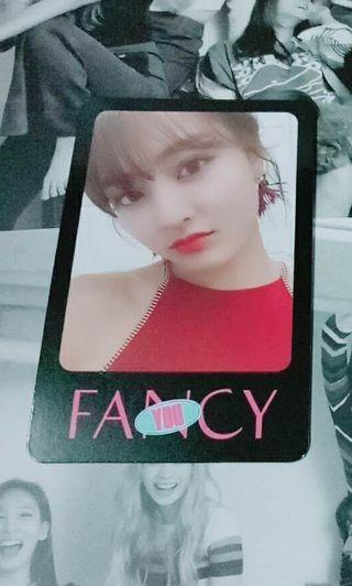 WTT Twice Fancy Photocard