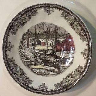 Moving Out Sale Johnson Bros Ceramic decorative plate