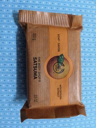 The Body Shop Soap with Satsuma Extract