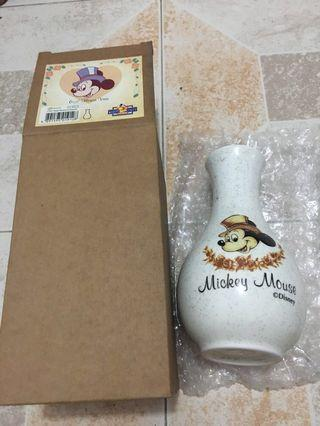 """Mickey Mouse 6 1/2"""" flower vase 花樽/花瓶"""