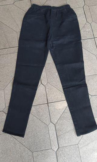 Celana Jeans Hitam Hamil