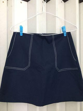 Skirt半截裙短裙簡約好搭配可職業可casual
