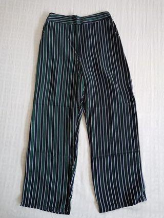 Green Stripey Trousers