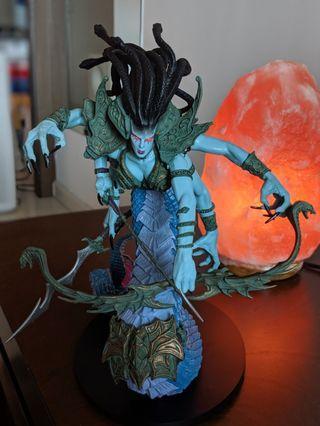 Lady Vashj naga World Of Warcraft DC Unlimited statue figure