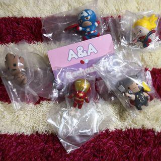 【現貨】Marvel Kawaii Art Collection Figure 扭蛋 一套全5款 不散賣