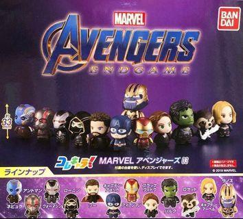 Marvel Avengers 4 End Game 復仇者聯盟 扭蛋