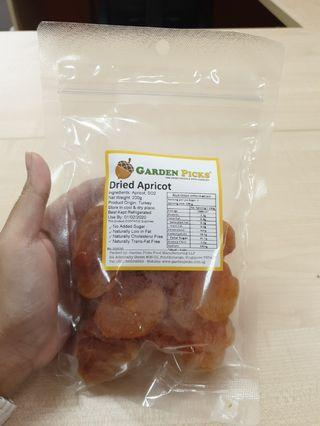 to bless-dried apricots