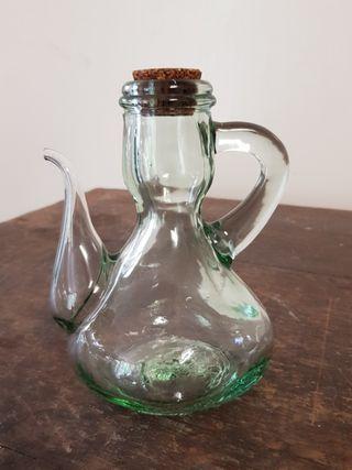 vintage jar with spout