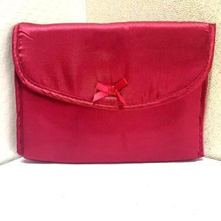 Red Expandable Pouch