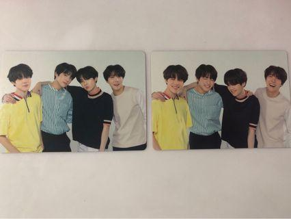 [WTS] BTS LOVE YOURSELF IN JAPAN MINI PHOTOCARD UNIT