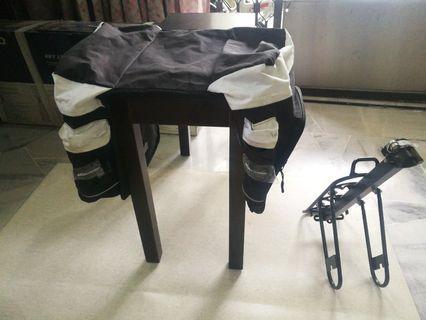 Bicycle Rack and Travel Bag