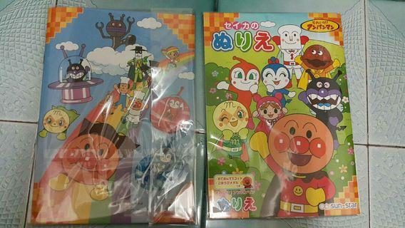 日本麵包超人繪圖本