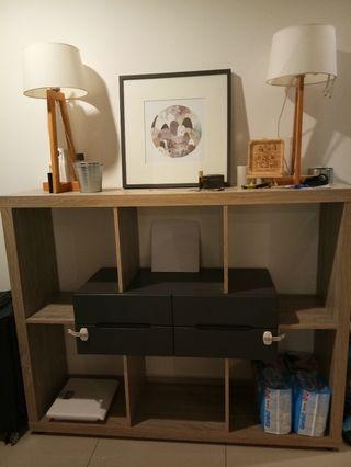 Nordic Divider Cabinet / Display Cabinet