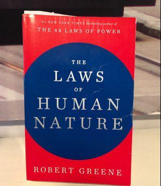 The laws of human nature- Robert Greene