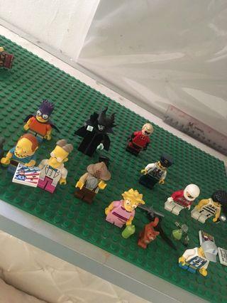 Lego mini figures Original