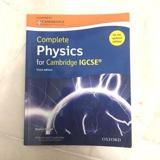 IGCSE Physics Textbook