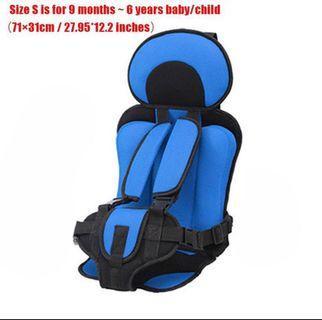 Portable car seat baby toddler child