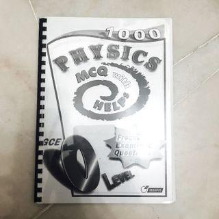IGCSE Physics MCQ Book