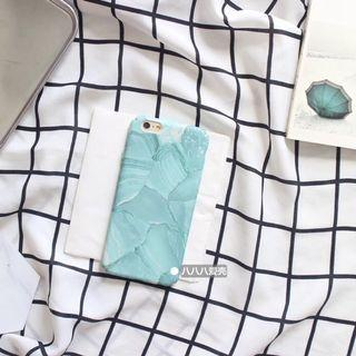 Green marble iPhone 7 phone case