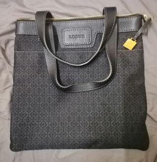 Loewe monogram tote bag.
