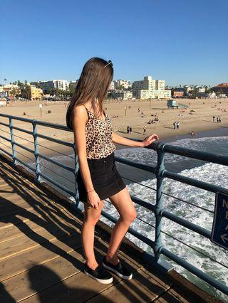 Glassons Leopard cami top