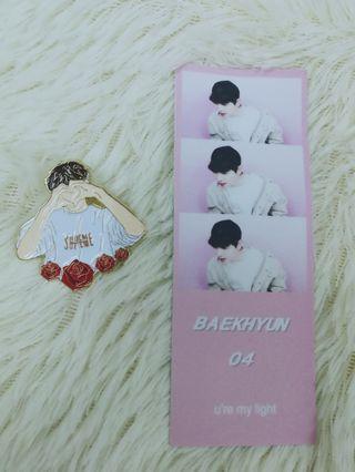 EXO Baekhyun PUBG enamel pin