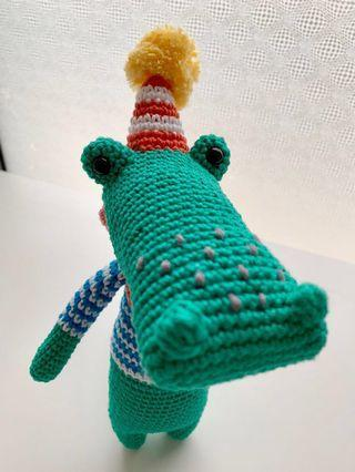 Amigurumi Beny the Crocodile