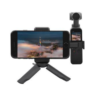 SHOOT XT-529 Portable Phone Clamp Bracket Extending Tripod for DJI OSMO Pocket Camera Gimbal