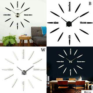 🌟PM for price🌟 🍀Modern Circular Big Acrylic Walk Clock🍀