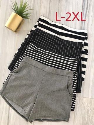 """PLUS SIZE CASUAL SHORT (up to 36"""" waistline)"""