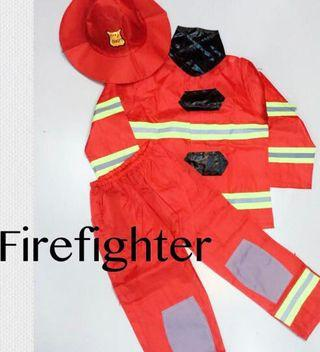 Fire Fighter Costume with accessories