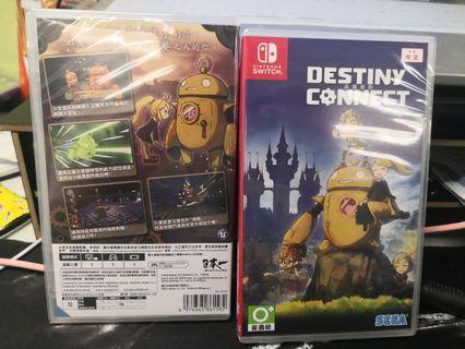 全新NS Destiny Connect 命運連動 中文版
