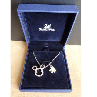 [USED] Swarovski Mickey Mouse Necklace
