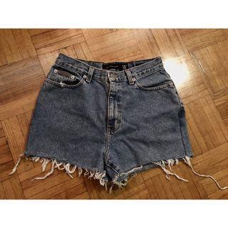 Calvin Klein Distress Shorts