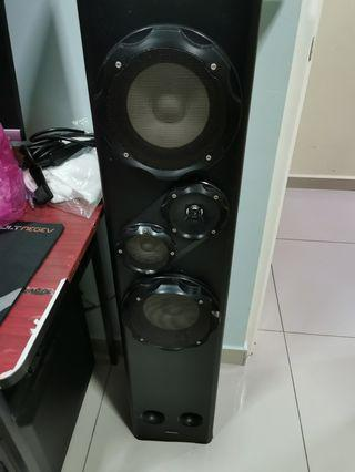 Speaker and amp to let go